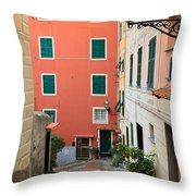 Liguria - Sori Throw Pillow