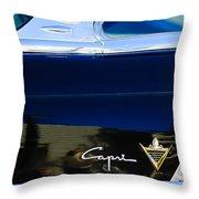 Lincoln Capri Emblem Throw Pillow