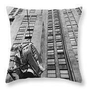 Lindbergh Beacon Hoisted Up Throw Pillow