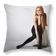 Liuda17 Throw Pillow