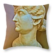 Livia In Ephesus Museum-turkey  Throw Pillow