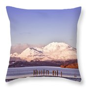 Loch Lomond 02 Throw Pillow