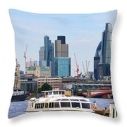 London Old And New 5838 Throw Pillow
