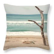 Lone Tree Throw Pillow by Yew Kwang