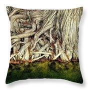 Long Slow Drink Throw Pillow