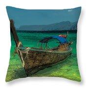 Longboat Throw Pillow