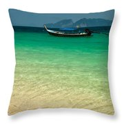 Longboat Asia Throw Pillow
