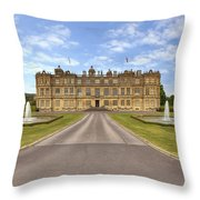 Longleat House  Wiltshire Throw Pillow