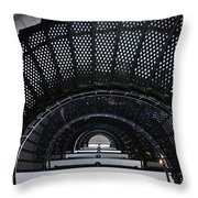 Looking Up The Lighthouse Throw Pillow