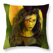 Lorde Original Throw Pillow