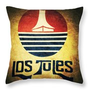 Los Tules Throw Pillow