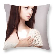 Love And Loss Throw Pillow