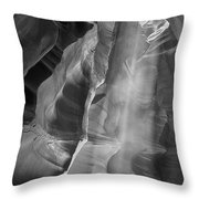 Upper Antelope Canyon Litebeam Throw Pillow