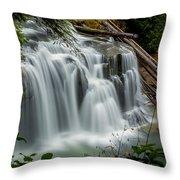 Lower Lewis Falls 2 Throw Pillow