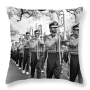 Lsu Marching Band Vignette Throw Pillow