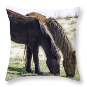 Lunch With A Friend  1220 Throw Pillow