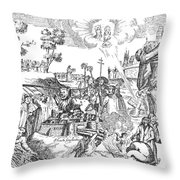 Luther Anniversary, 1617 Throw Pillow