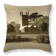 Mabe Church Throw Pillow