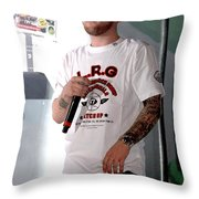 Mac Miller Throw Pillow