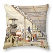 Machinery, From Dickinsons Throw Pillow
