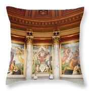 Murals In The Capitol - Madison Throw Pillow