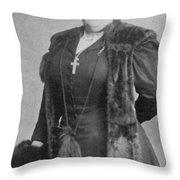 Maggie L Throw Pillow