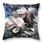 Magnolia  Twig Throw Pillow