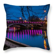 Maidstone Bridge Throw Pillow