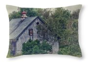 Maine Countryside Throw Pillow