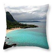 Makapu'u Beach Throw Pillow