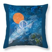 Making Love To The Universe - Infinitude Throw Pillow