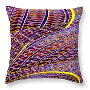 Making Tracks Throw Pillow
