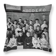 Mamie Eisenhower (1896-1979) Throw Pillow