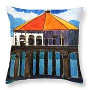 Manhattan Beach California Throw Pillow