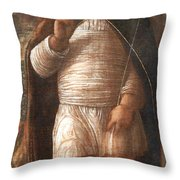 Mantegna's The Infant Savior Throw Pillow