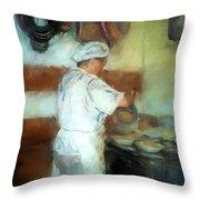 Marcellos Wife Throw Pillow