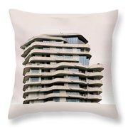 Marco Polo Tower Hamburg Hafencity Throw Pillow