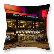 Marcus Center For The Performing Arts  Throw Pillow
