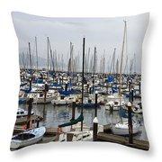 Marina San Francisco Throw Pillow