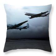Maritime Reconnaissance Throw Pillow