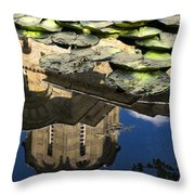 Marko's Monastery Near Skopje Throw Pillow