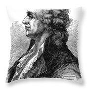 Marquis De Condorcet (1743-1794) Throw Pillow