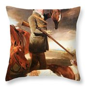 Marshall's J G Shaddick -- The Celebrated Sportsman Throw Pillow