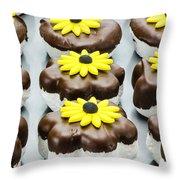 Marshmallow Cookies  Throw Pillow