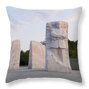 Martin Luther King Jr Memorial  Throw Pillow