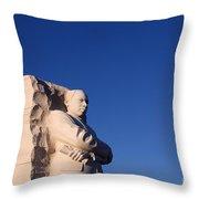 Martin Luther King Memorial Throw Pillow