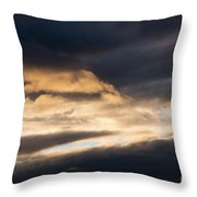 Masses Of Dark Clouds Throw Pillow