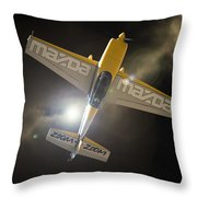 Mazda Zoom Zoom Throw Pillow