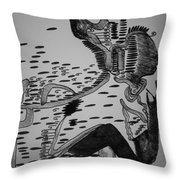 Mbakumba Dance - Zimbabwe Throw Pillow