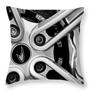 Mclaren Wheel Emblem Throw Pillow